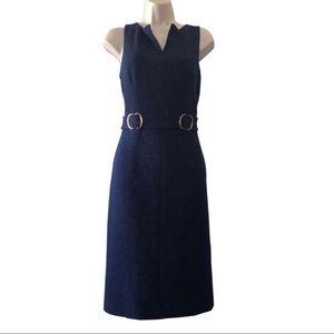 David Meister dark blue dress